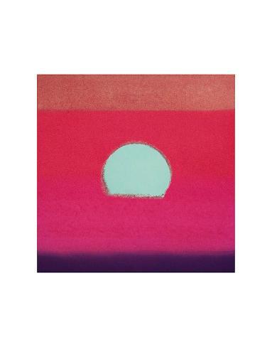 Sunset, c.1972 40/40 (fuchsia) Art Print