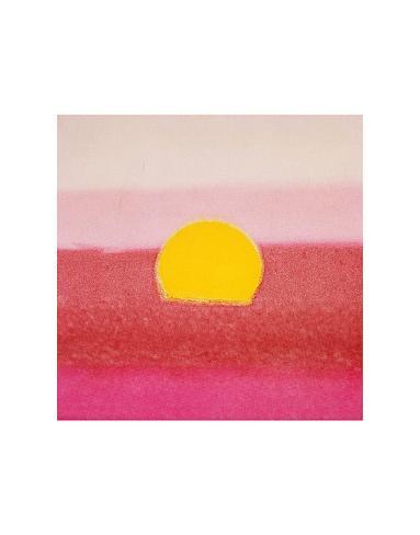 Sunset, c.1972 40/40 (pink) Art Print