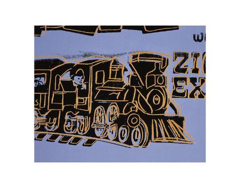 Train, 1983 Art Print