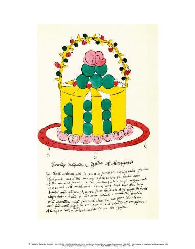 Wild Raspberries, c.1959  (yellow and green) Art Print