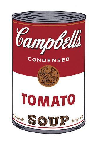 Zuppa Campbell I: pomodoro, 1968 circa, in inglese Stampa artistica