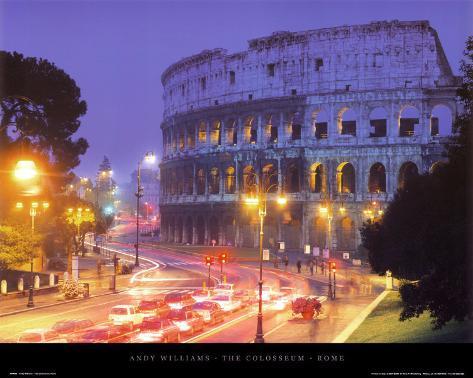 The Colosseum - Rome Art Print