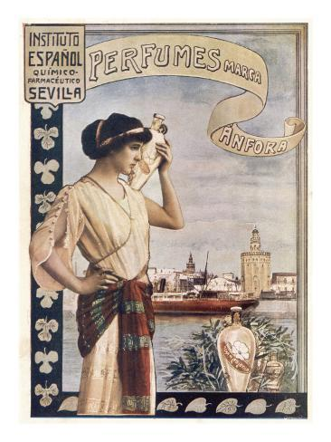 Anfora Perfumes, Seville Giclee Print