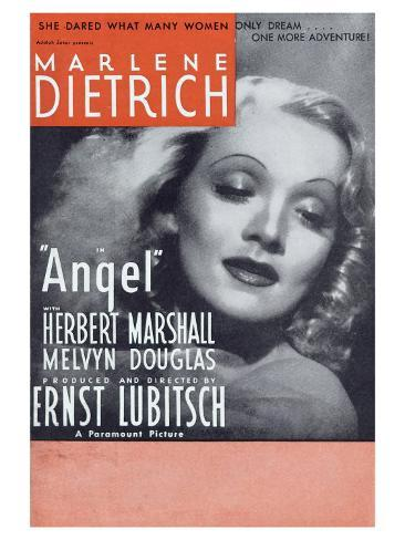 Angel, 1937 Konstprint