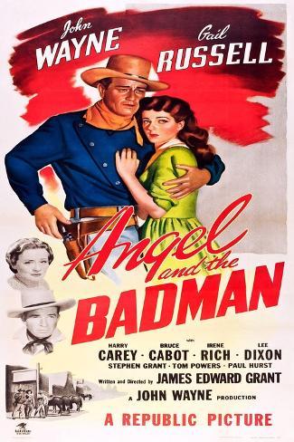 Angel and the Badman, 1947 Art Print