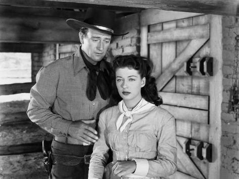 Angel and the Badman, John Wayne, Gail Russell, 1947 Photo
