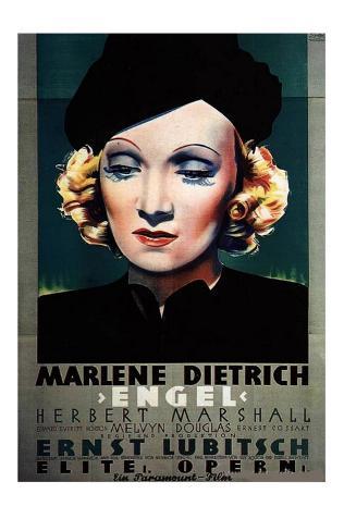 Angel, Danish Movie Poster, 1937 Masterprint