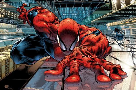 The Sensational Spider-Man No.23 Cover: Spider-Man Giant Art Print