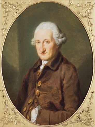 A Man Called Sir Robert Hervey, C.1780 Lámina giclée