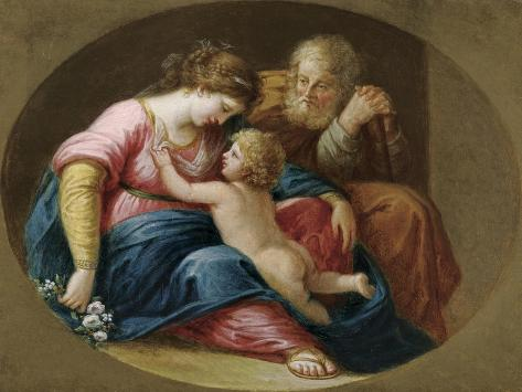 Die Heilige Familie Lámina giclée