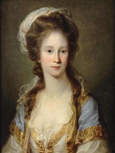 Portrait of a Lady, C.1780 Lámina giclée
