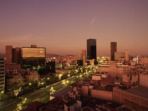Citta Del Messico, Mexico City Photographic Print