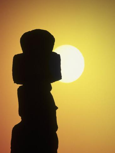 Easter Island, Chile Photographic Print