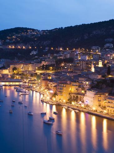 Villefranche Sur Mer, Alpes Maritimes, Provence, Cote d'Azur, French Riviera, France Photographic Print