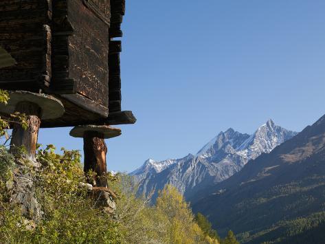 Zermatt, Valais, Swiss Alps, Switzerland, Europe Photographic Print