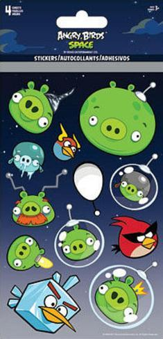 Angry Birds Space Stickers Stickers