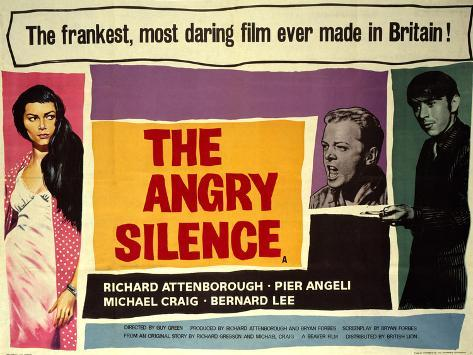 Angry Silence (The) Art Print