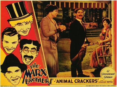 Animal Crackers, 1930 Art Print