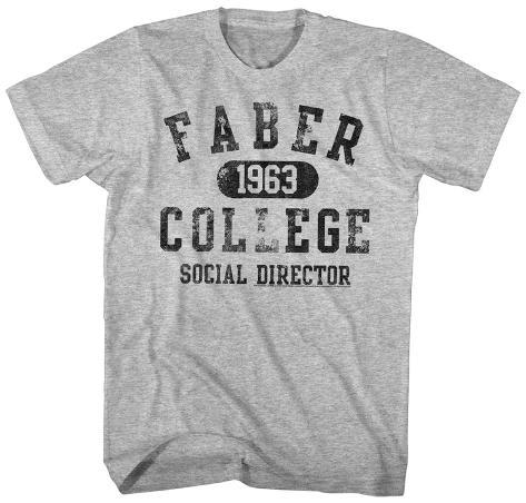 Animal House- Faber College Social Director Camiseta