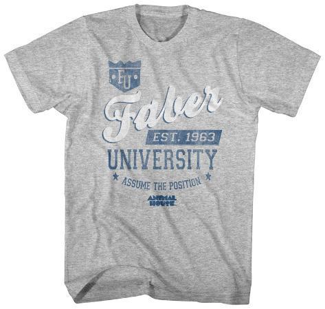 Animal House- Faber University Est. 1963 T-shirt