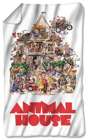 Animal House - Poster Fleece Blanket Fleece Blanket