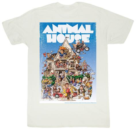 Animal House - Poster Time T-Shirt