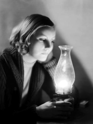 Anna Christie, Greta Garbo, 1930 Photo