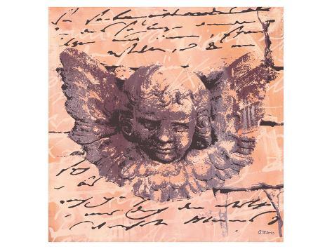Apricot Letter of an Angel Lámina