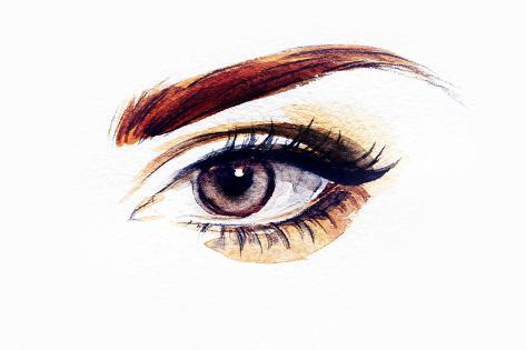Woman Eye Photographic Print