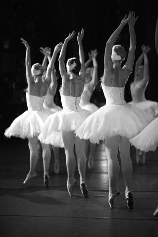 Ballerinas on the Stage Photographic Print