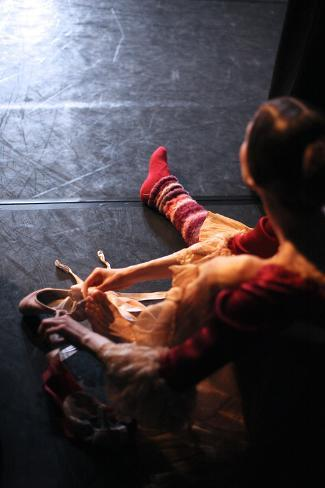 Ballet behind the Scenes Photographic Print