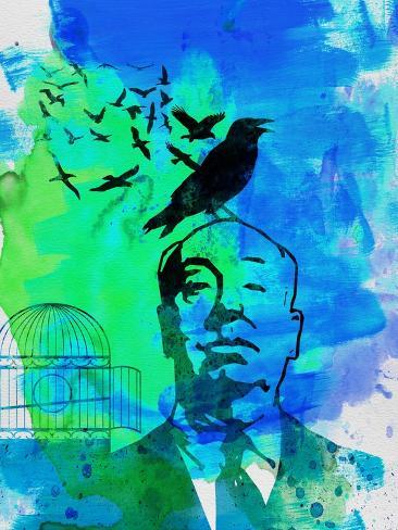 Birds Watercolor Art Print