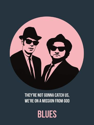 Blues Poster 1 Art Print