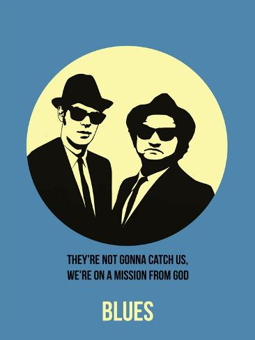 Blues Poster 2 Art Print