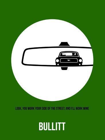 Bullitt Poster 2 Art Print