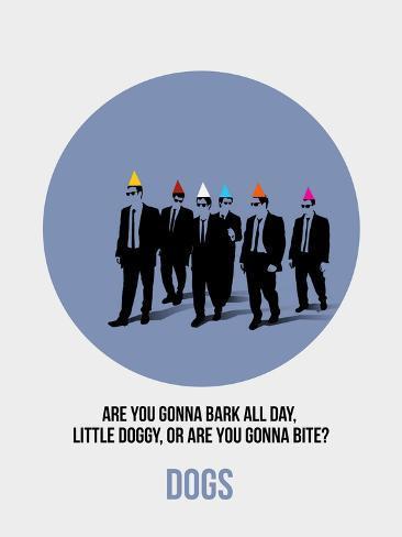 Dogs Poster 1 Impressão artística