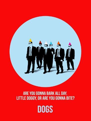 Dogs Poster 2 Art Print
