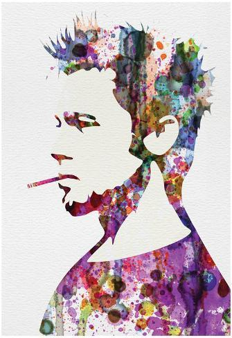 Fight Club Watercolor Poster