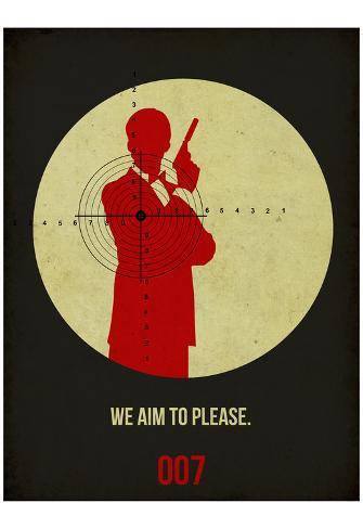 James Poster Black 2 Poster