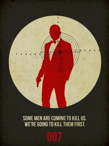 James Poster Black 3 Art Print