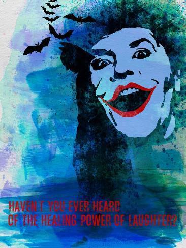 Laughter Watercolor Art Print