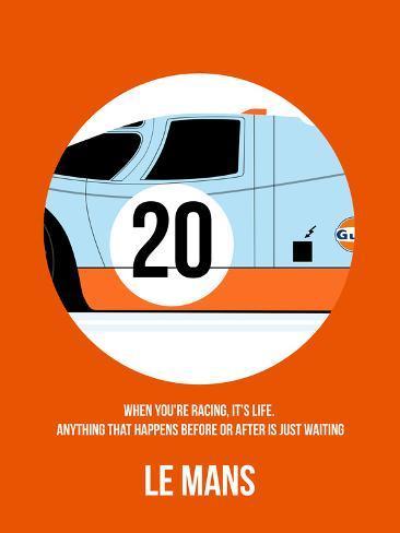 Le Mans Poster 1 Plastic Sign