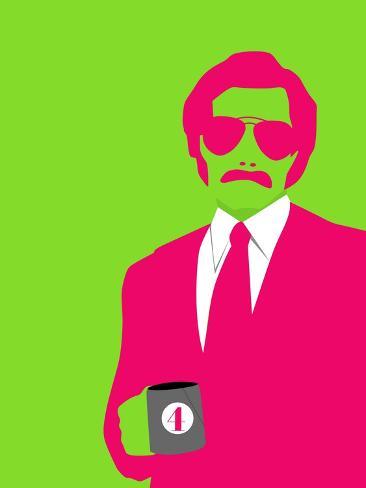 Man Poster Art Print
