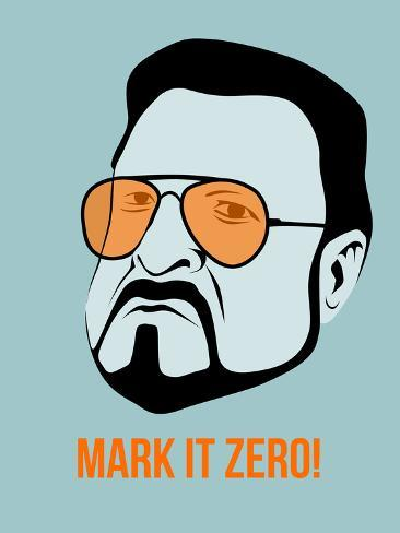 Mark it Zero Poster 1 Targa di plastica