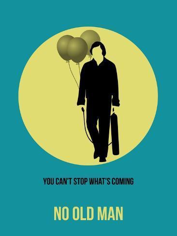 No Old Man Poster 3 Premium Giclee Print