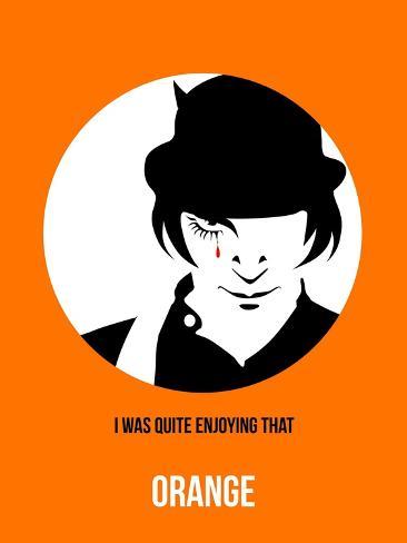 Orange Poster 2 Art Print