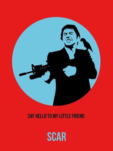 Scar Poster 1 Art Print
