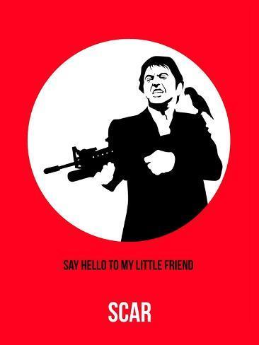 Scar Poster 2 Art Print