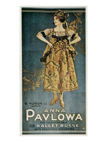 Poster of the Russian Ballets Art Print