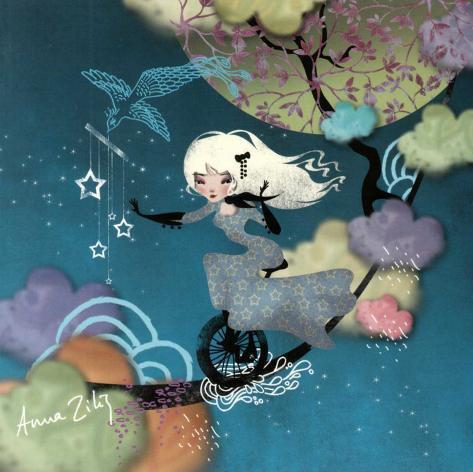 L'Equilibre Nocturne Art Print